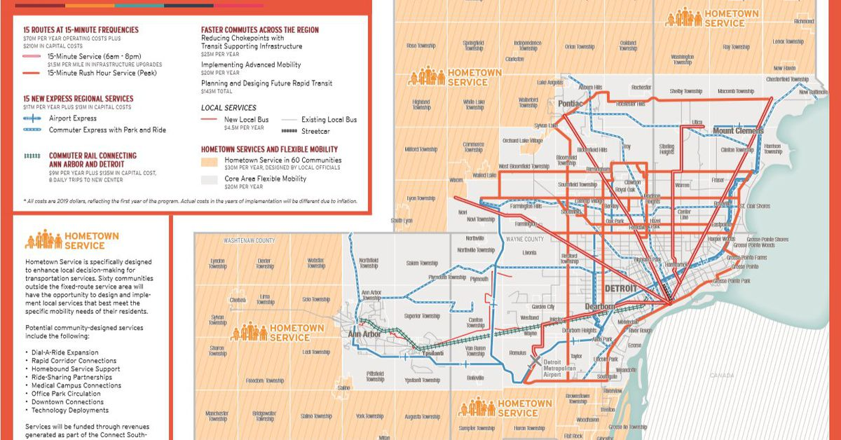 Wayne County Pitches New Transit Plan To The Rta Curbed