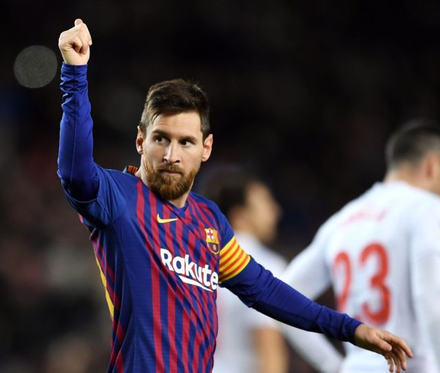 Barcelona Vs Eibar La Liga Final Score   Dominant Second Half