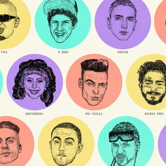 A History and Taxonomy of White Rappers - The Ringer