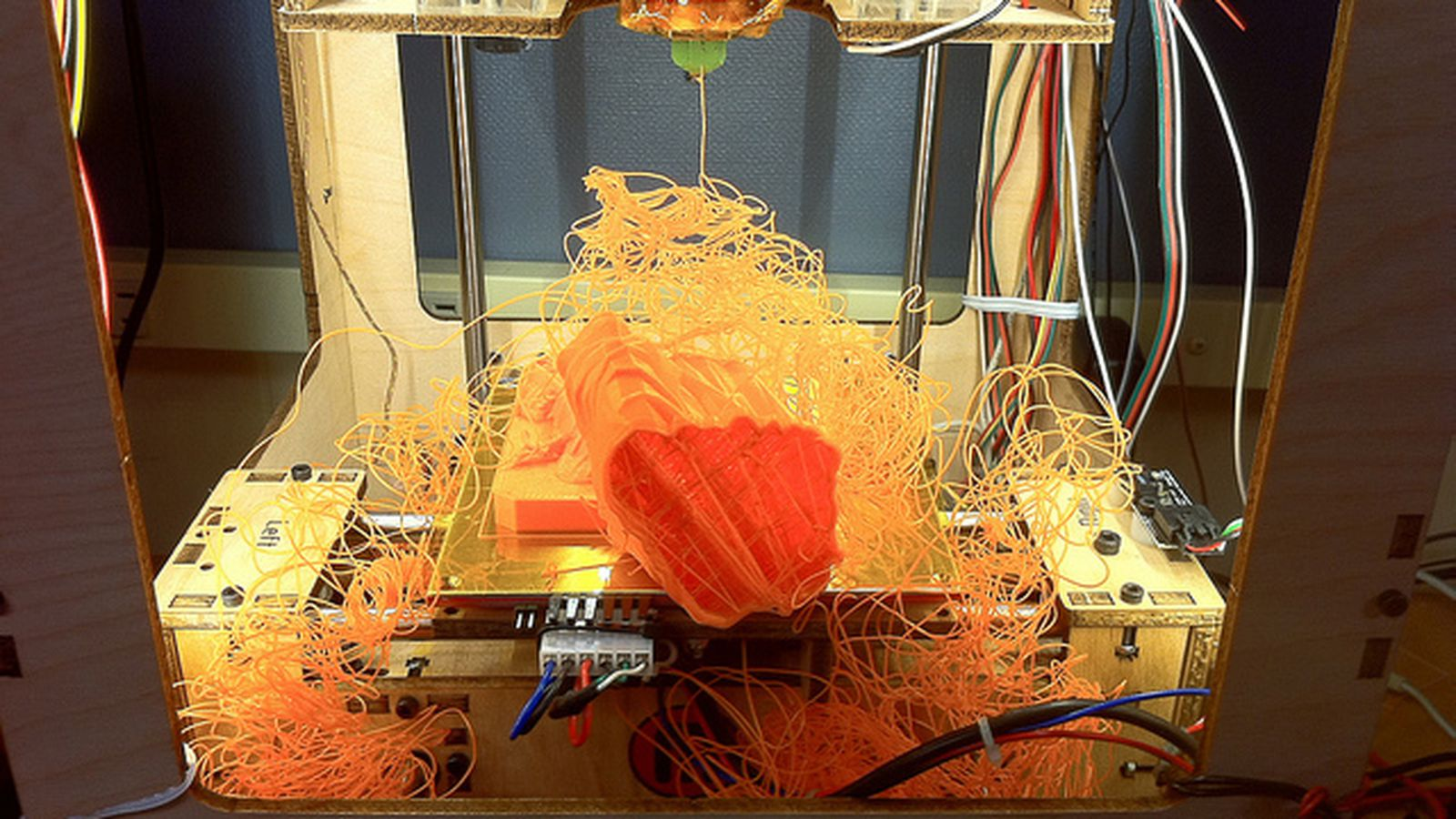When 3d Printers Fail The Results Are Beautiful The Verge