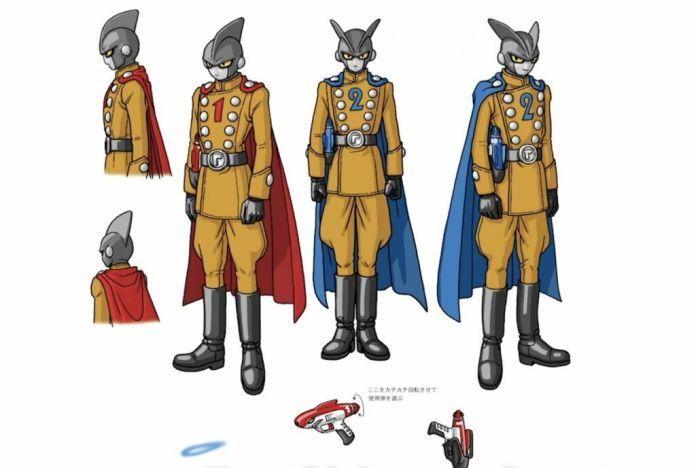 Dragon Ball Super: Super Hero new character art