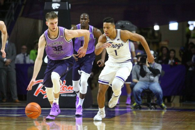 Image result for TCU Horned Frogs vs Kansas State Wildcats Live NCAA Men's College Basketball