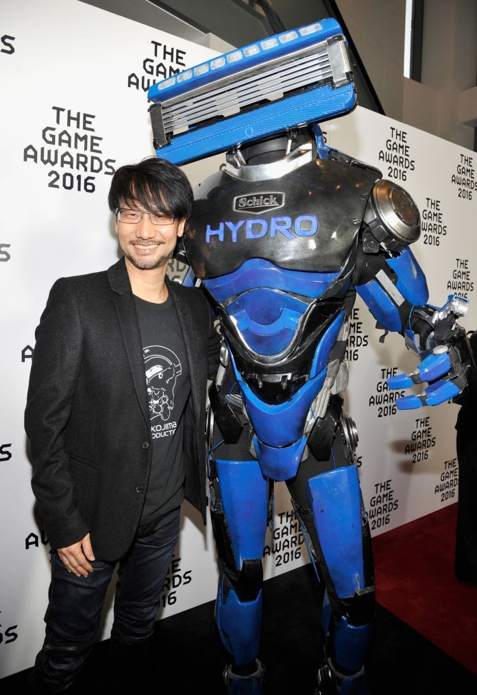 The Schick Hydrobot at the Game Awards 2016