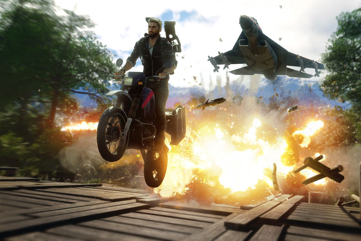 Blockbuster Just Cause 4 officially opens for free right on Epic Games Store