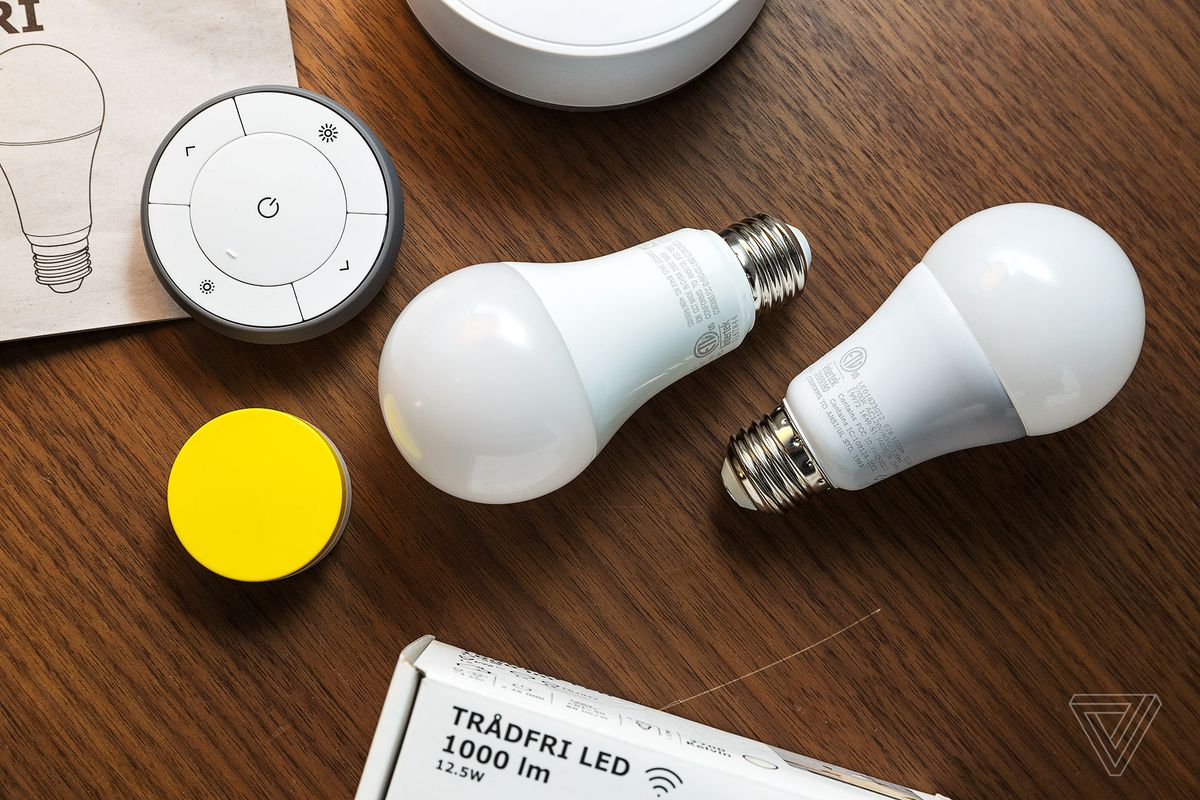 Ikeas Smart Lights Are As Stylish And Breakable As Its