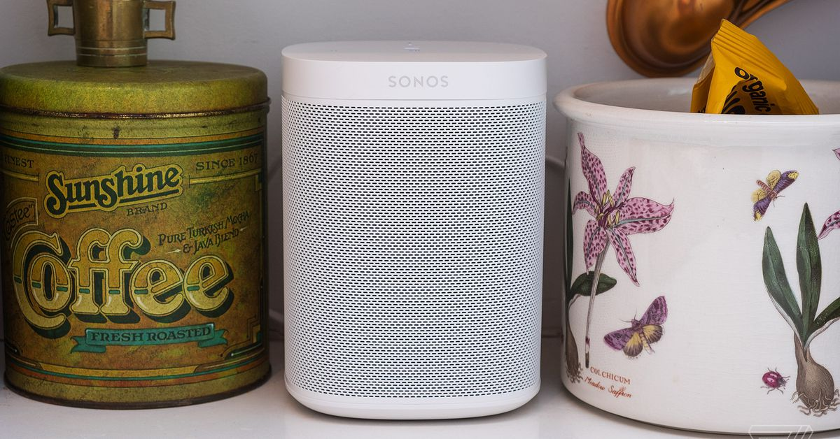 Sonos One Wi-Fi speakers are  off today