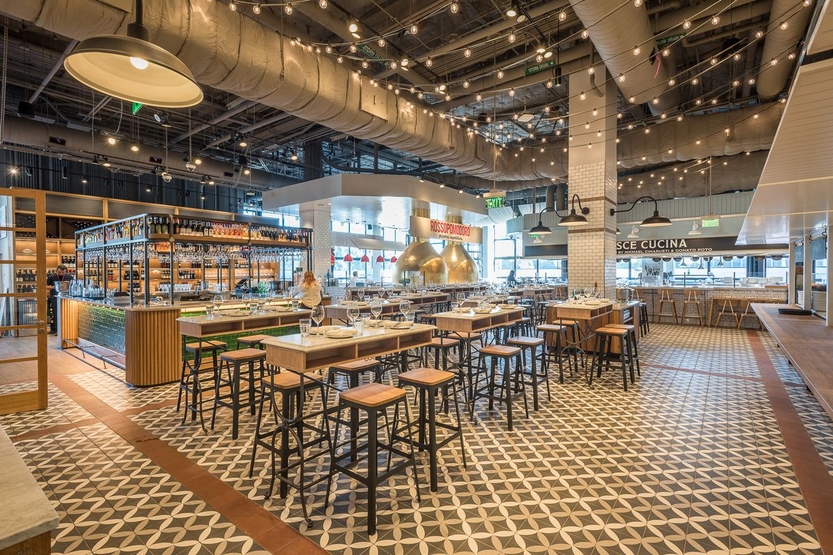 Eataly's Rooftop Restaurant With A Wood-Burning Grill