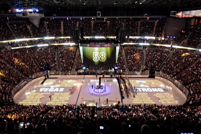 Image result for golden knights pregame mandalay bay