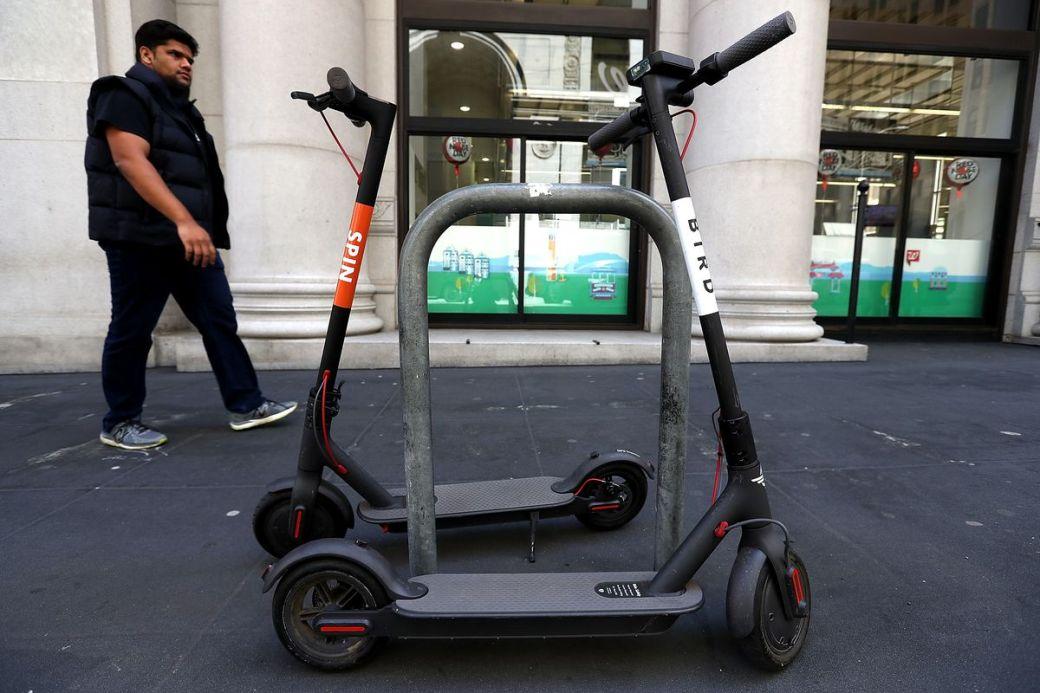 San Francisco Battles New Electric Scooter Rentals