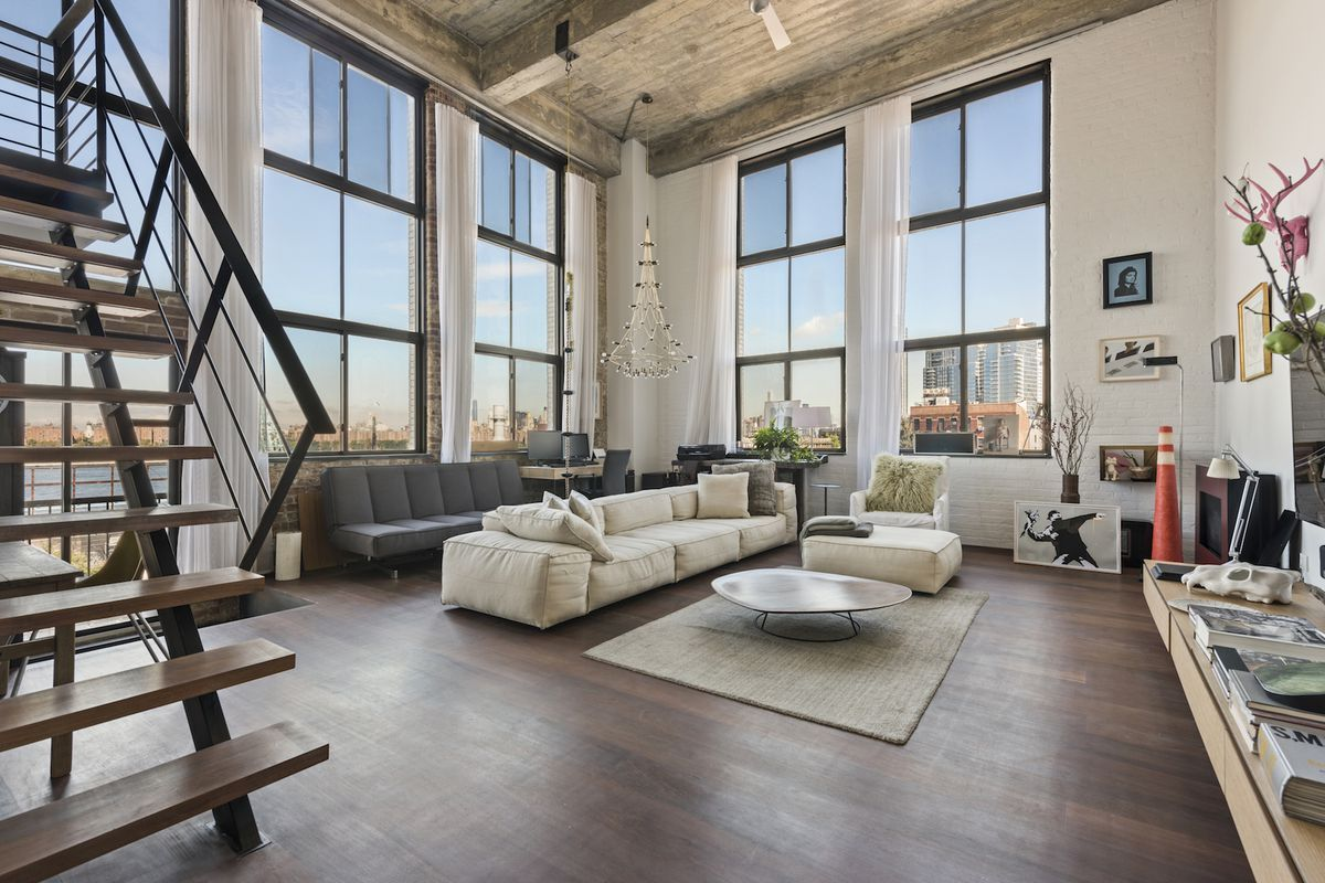 Industrial Chic Williamsburg Loft In A Converted Factory