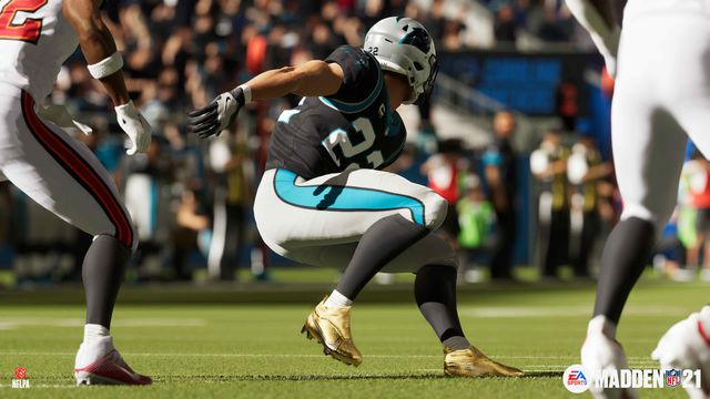 MAD21_G5_LAUNCHSCREENS_CMC_Zag_CamA_01_PS_WATERMARKED_111620.0 Madden NFL 21 overhauls gameplay with real-life data, but only on PS5 and Xbox Series X | Polygon