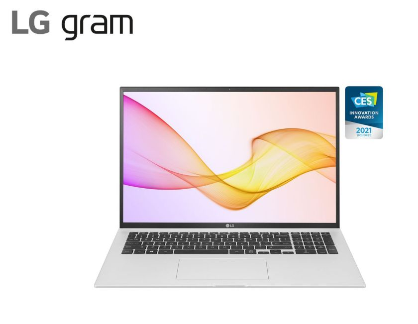 2021 LG gram 17Z90P Silver
