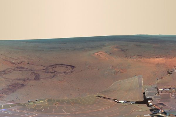 Mars Rover Opportunity returns amazing panorama from the ...