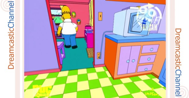 Here's the never-before-seen Simpsons video game dreamt up for Sega Dreamcast