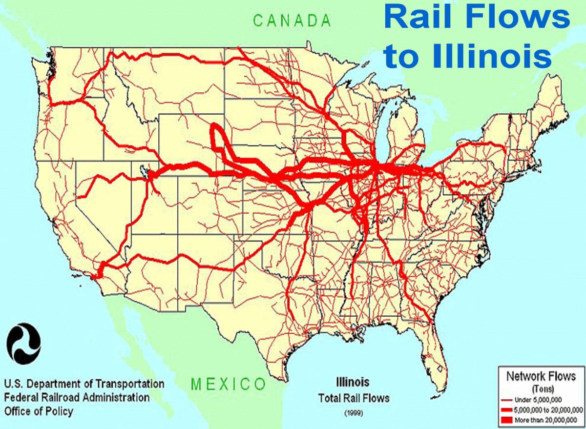 Map Waterways Us Navigable