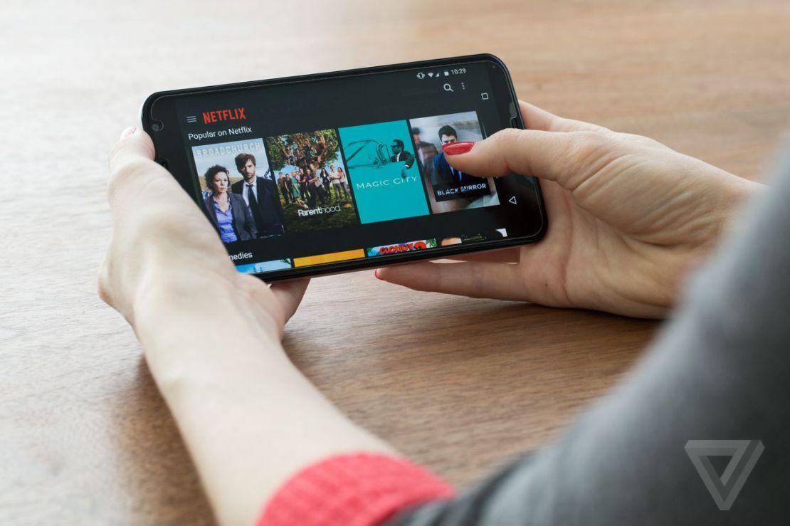 Netflix stock image