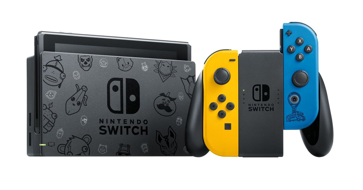 Fortnite special edition Nintendo Switch announced for Europe