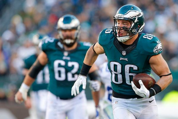 Fantasy football rankings, 2017: Tight ends for Week 1 ...
