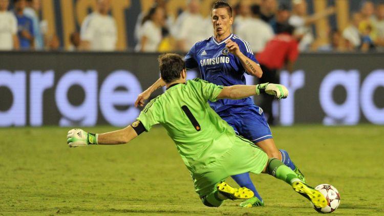 A visual comparison of Romelu Lukaku and Fernando Torres ...