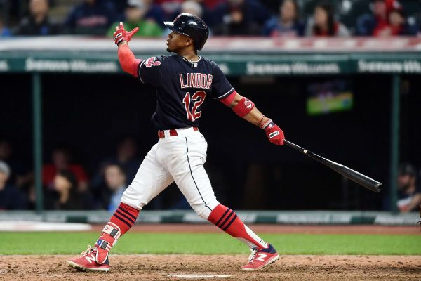 Francisco Lindor's monster home run pushes Indians over ...