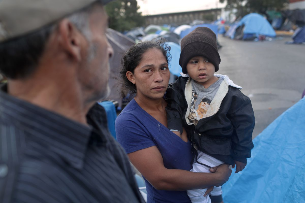 Immigrant Caravan Members Continue To Gather At U.S.-Mexico Border