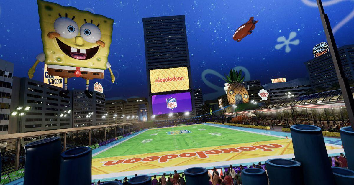 Madden 21 now has a SpongeBob SquarePants field