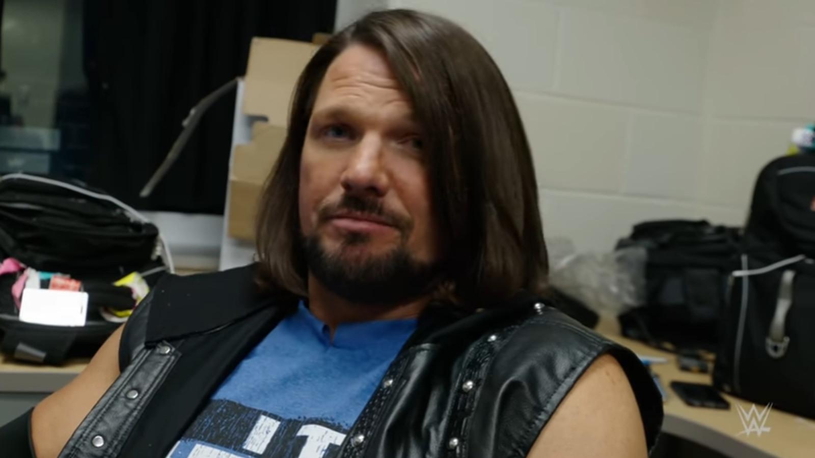 AJ Styles Relives His WWE Debut At Royal Rumble 2016