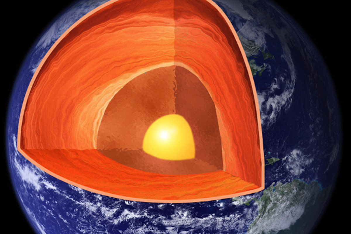 It S Getting Hot In Here Earth S Core Is 1 000 Degrees