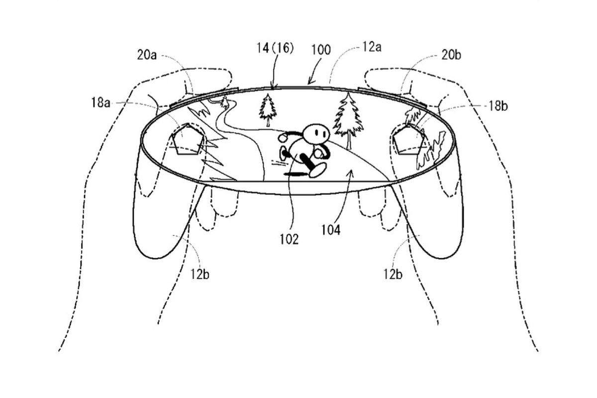 Wild Nintendo Patent Filing Shows Game Controller Made Out
