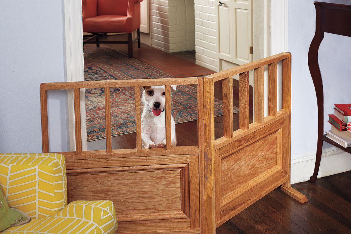 How To Build A Dog Gate This Old House