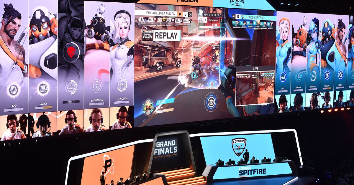 London Spitfire Win Overwatch Leagues First Championship Polygon