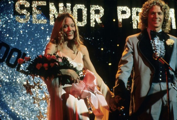 Carrie (Spacek), newly crowned Prom Queen.