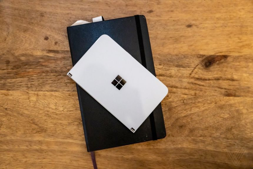 The Microsoft Surface Duo