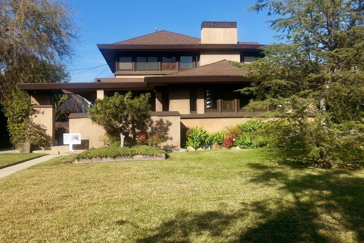 Lloyd Wright Designed Home For Sale In Los Angeles For 135M Curbed LA