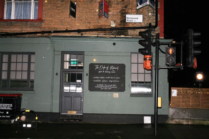 The Duke of Richmond's gastropub in Hackney remains closed amid coronavirus lockdown in London
