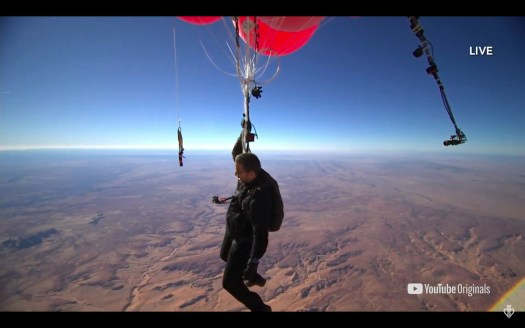 David Blaine in his Ascension special