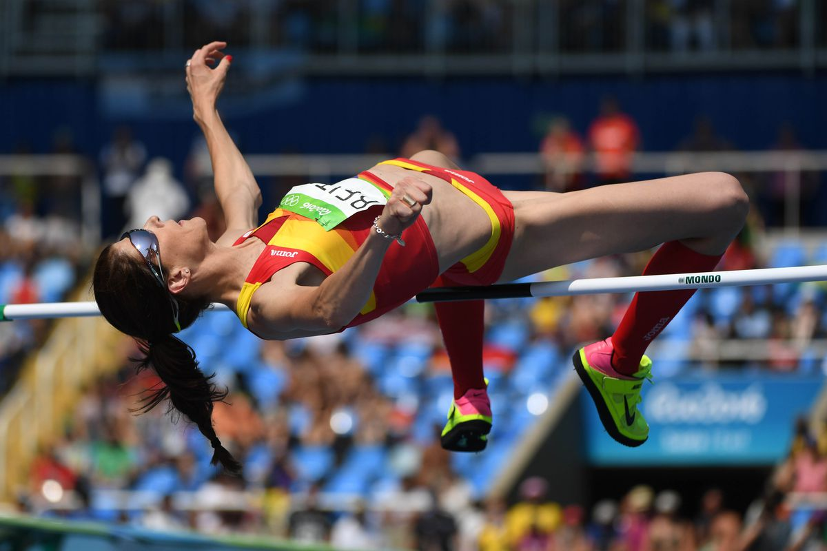 Olympics 2016 Ruth Beitia Wins Gold Medal In Womens High Jump
