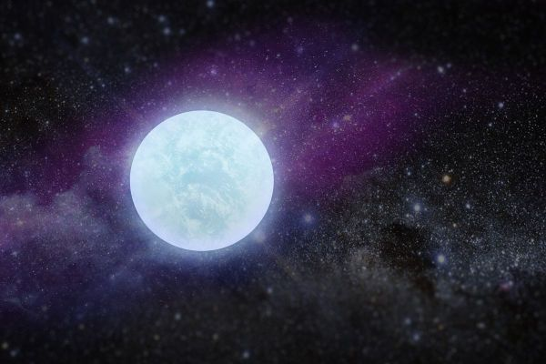 Astronomers spot a neverbeforeseen type of white dwarf