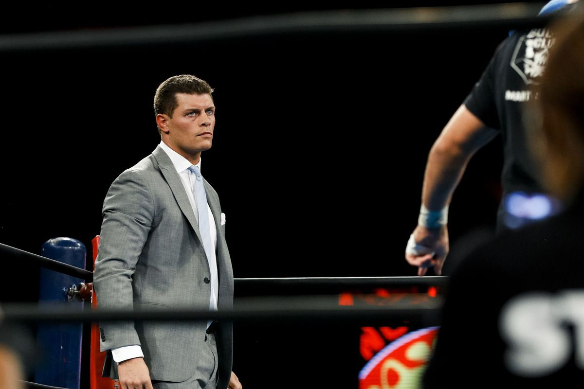 The First Match You Ll See On Aew S Tv Show On Tnt