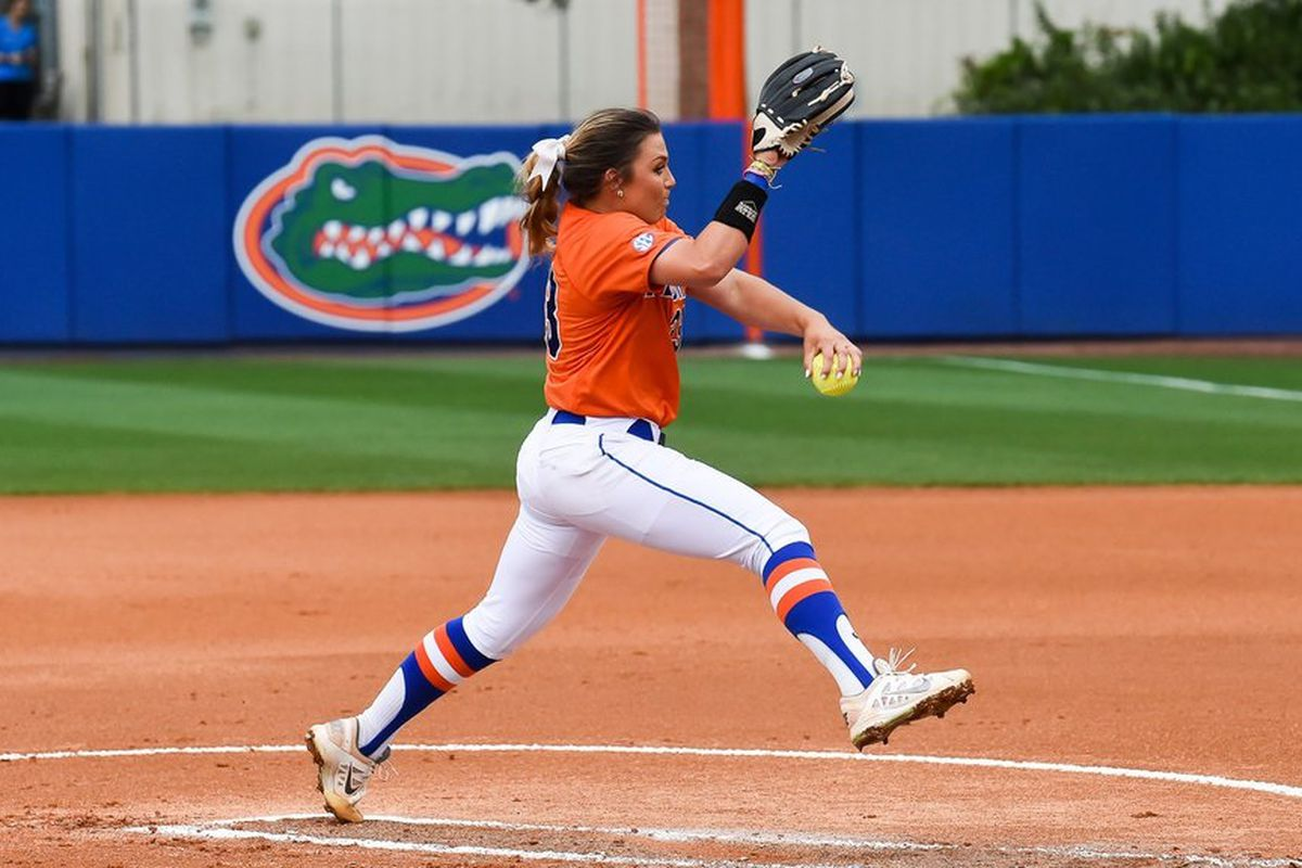 Logo Gators Florida Softball