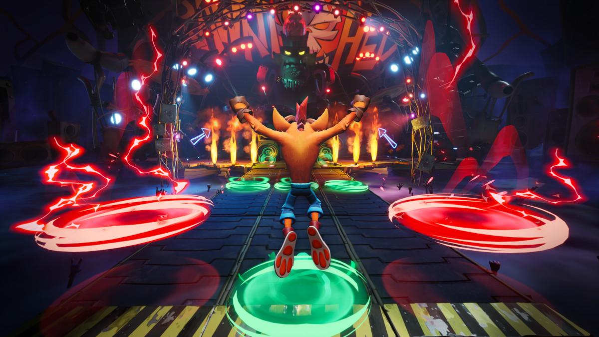 A boss from Crash Bandicoot 4: It's About Time