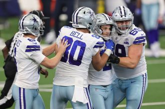 Cowboys pull off a miracle comeback, beat Falcons 40-39 on last-second FG -  Blogging The Boys