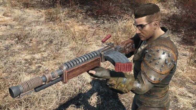 Adam Risdale Project V13 rifle mod, Fallout 4