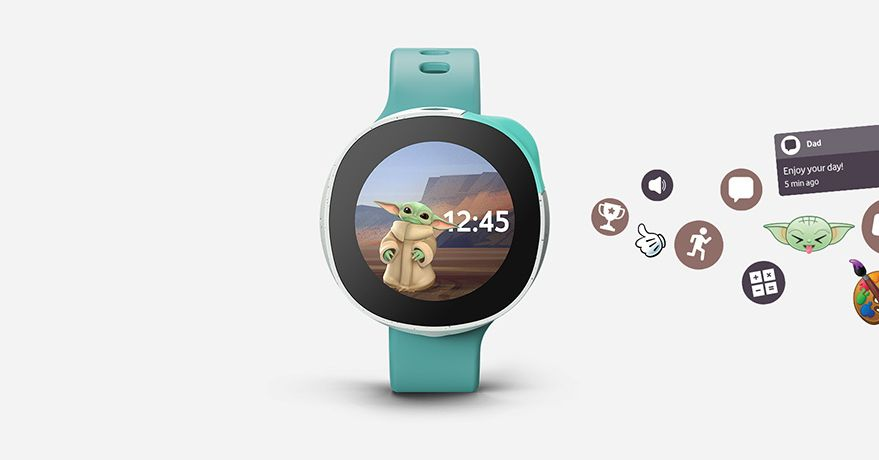 Put Baby Yoda on your wrist with Vodafone and Disney's Neo smartwatch