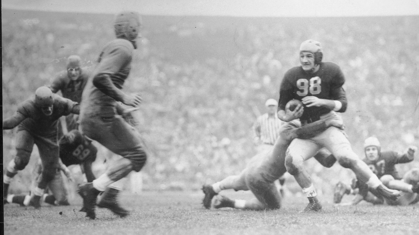 Game Of The Year Of The Day 1940 Minnesota 7 Michigan 6 Football Study Hall