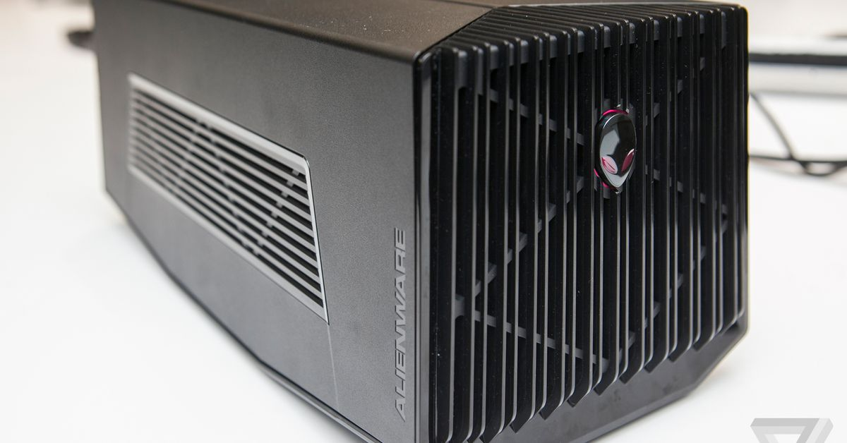 Dell has discontinued the Alienware Graphics Amplifier, its external GPU