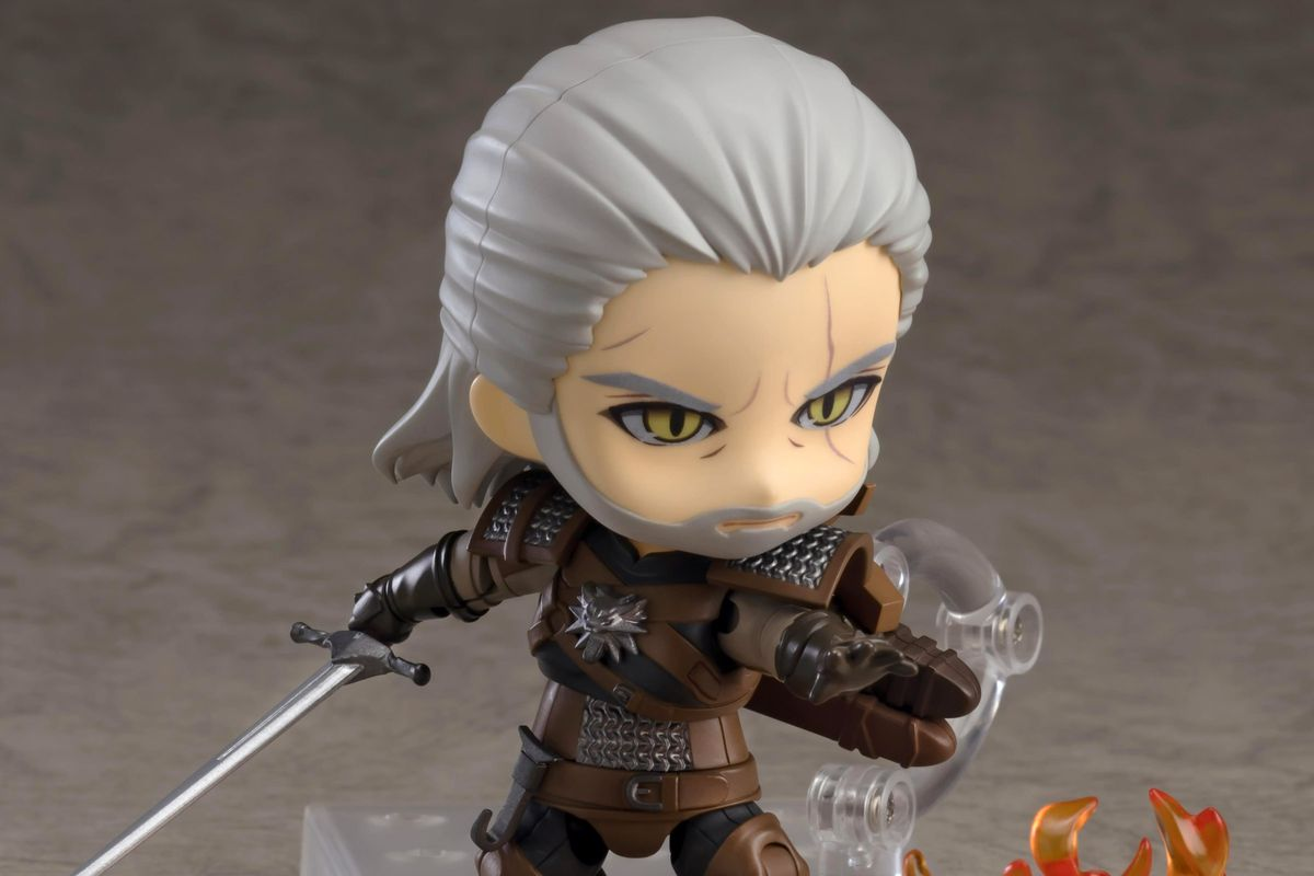 Adorable New Witcher 3 Figure Includes A Bath For Geralt