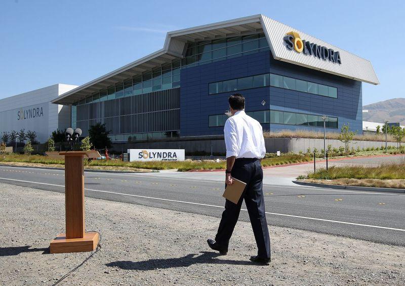 Mitt Romney tiene l'evento della campagna a Solyndra