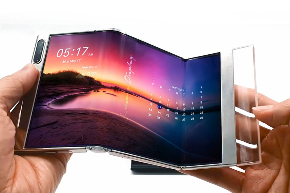 Samsung Display is showing off new foldable tech