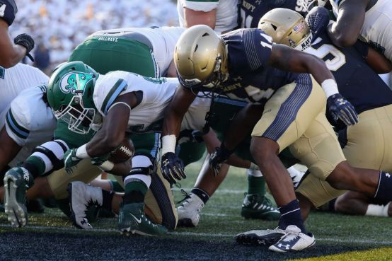 Image result for Navy Midshipmen vs. Tulane Green Wave